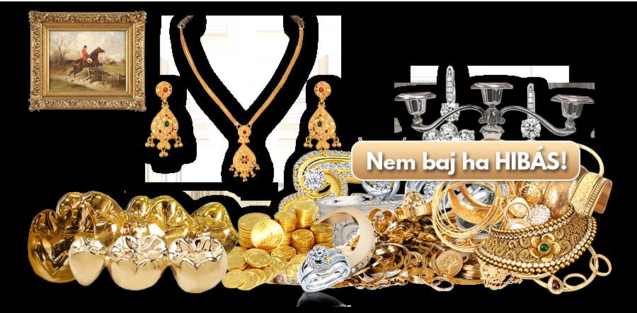Arany felvásárlás Budapesten, diszkrét módokon.