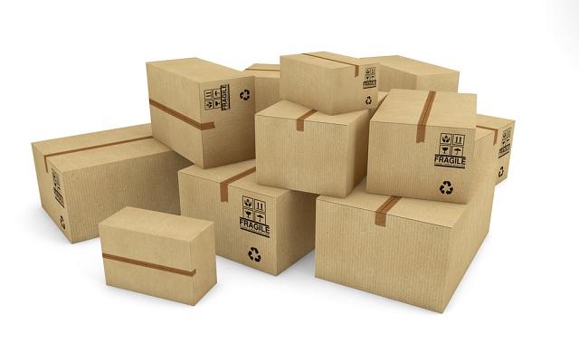 Csomagolások nagy választéka.