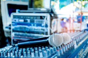 hangtechnika rendezvényre