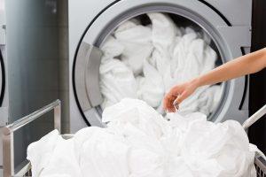 Budapesten ipari mosógépek